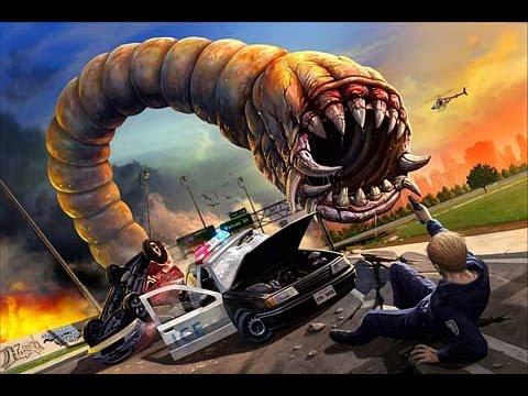 Death Worm   прикольная игра для IOS