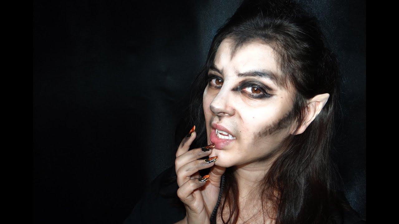 Hombre Lobo, maquillaje super sencillo