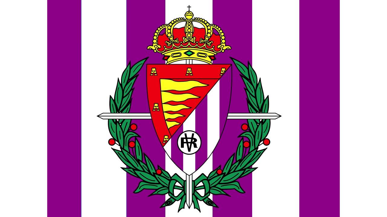 Bandera y escudo del real valladolid club de f tbol b valladolid capital valladolid youtube - Fotos del real valladolid ...