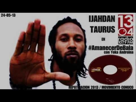 Ijahdan Taurus en #AmanecerDeBalas Con Yeka Andreina 1304 Radio 107.9fm