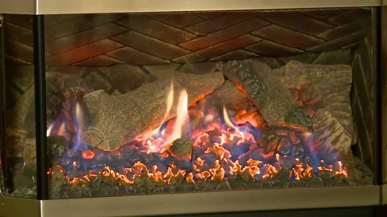quadra fire hudson bay gas stove video youtube