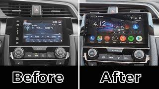 Honda Civic 20162019 Android CarPlay 9'' Stereo by GTA Car Kits