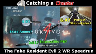 Catching a Cheater: The Fake Resident Evil 2 World Record Speedrun