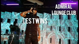 LES TWINS @ ADMIRAL LOUNGE CLUB GIESSEN IN ALLEMAGNE 5/08/17