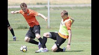 Тренировка «Урала» в Словении