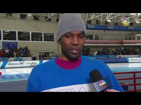 Olympic Long Track Speedskating Trials | Shani Davis Discusses Making His 5th Olympic Team