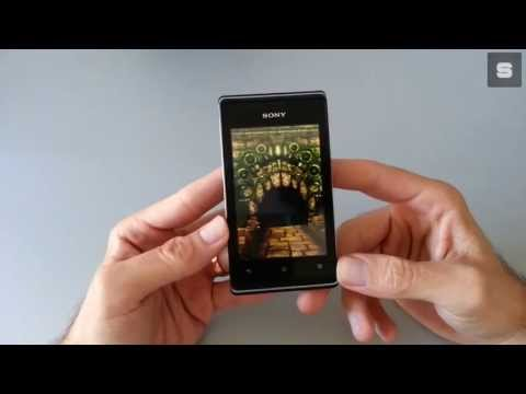 Sony Xperia E Video Recenzija