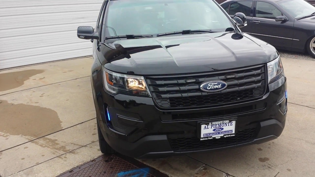 2017 ford police interceptor utility unmarked patrol vehicle