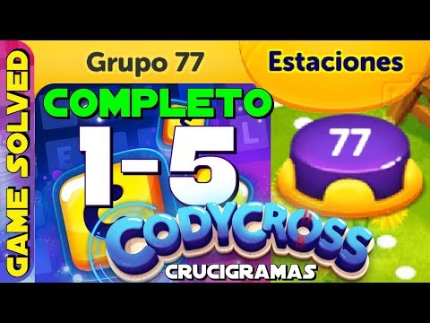 Codycross Crucigramas Estaciones Grupo 71 Completo By Game