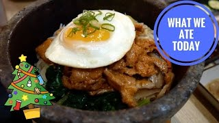 KOREAN BBQ & CHRISTMAS IN LONDON! | Food Diaries: What We Ate Today - Yum It