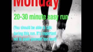 5k Weekly Training Plan