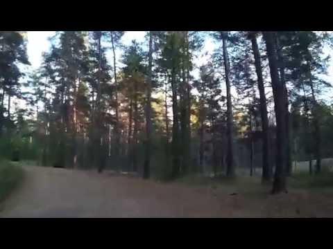 Biking Helsinki from Hakuninmaa to Pihlajisto (Mobius ActionCam)