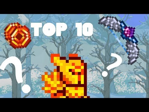 Terraria Top 10 Best Early-Hardmode Weapons | Terraria Guide