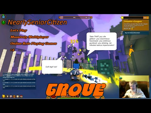 TROVE : Let's Play Massively Multiplayer Online Role Playing Games #3