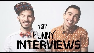 Tyler & Josh Being Tyler & Josh (TØP Funny Interviews & Vines)