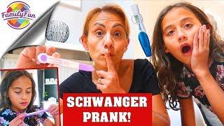MAMA SCHWANGER PRANK an MILEY - GEGLÜCKT oder FAIL? - Family Fun
