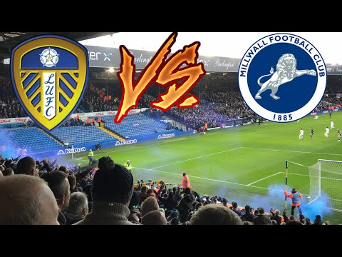 LEEDS FANS GOING MENTAL | LEEDS UNITED 3-4 MILLWALL 2017/18!!!