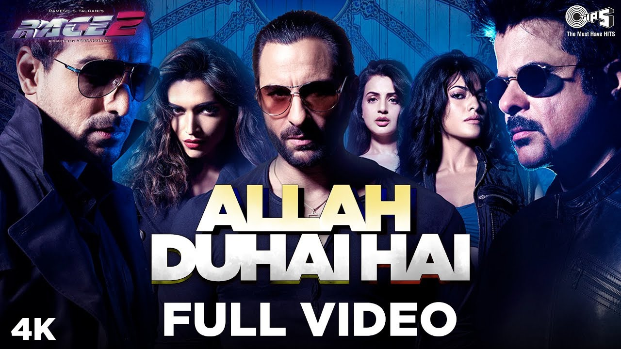 Allah Duhai Hai Full Video - Race 2 I Saif Ali, Deepika ...