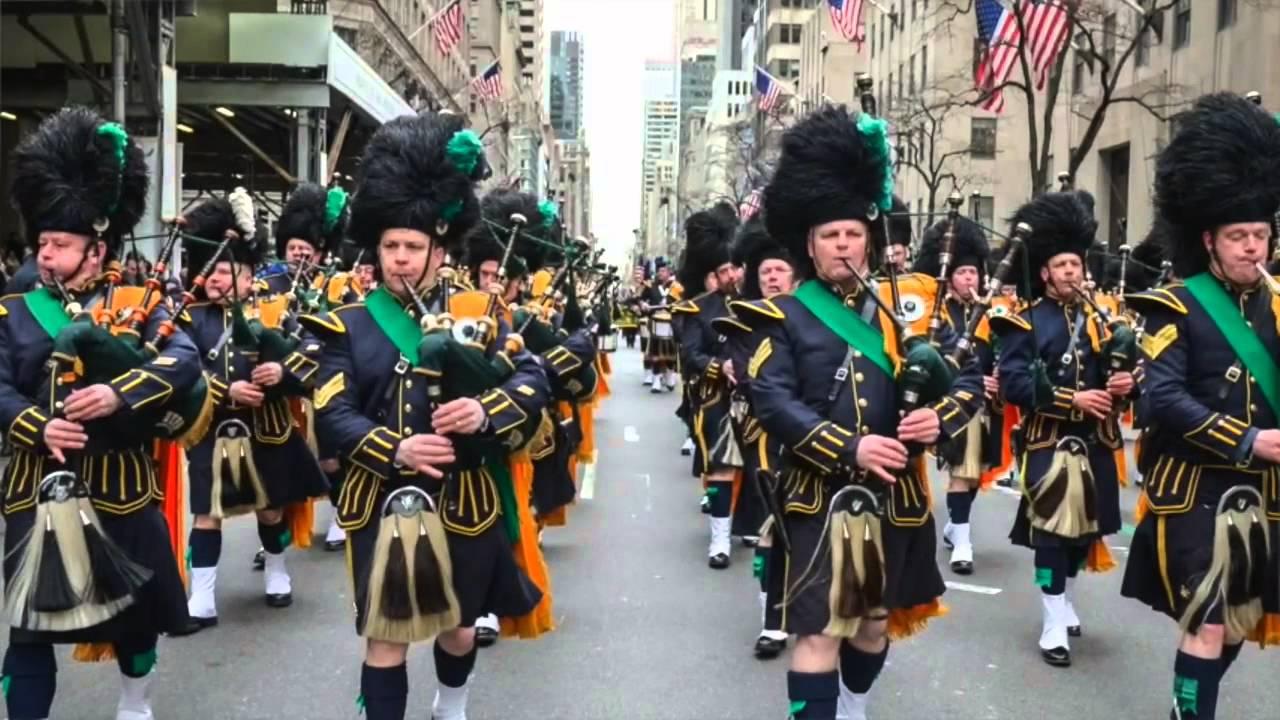 NYC Saint Patrick's Day Parade - YouTube