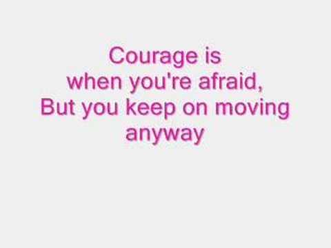 Courage is Lyrics