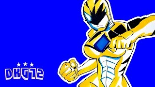 LETS DRAW THE YELLOW POWER RANGER!