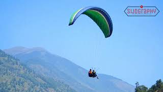 Best & Safe Paragliding Location at Kullu-Manali - Dhobi Valley