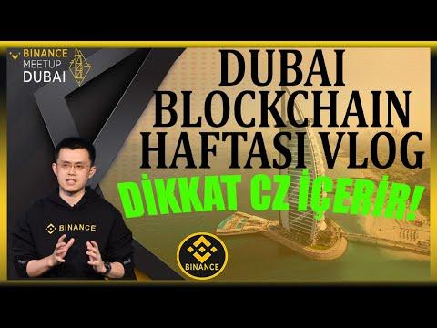 Dubai Blockchain Zirvesi 2021!! CZ Binance CEO Röportajı İçerir !! Dubai Vlog