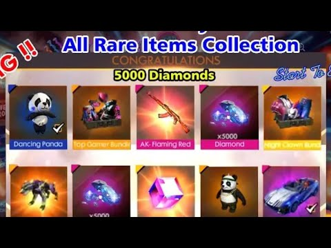 Freefire Rare Items Which Money Cant Buy - roblox hack topcom