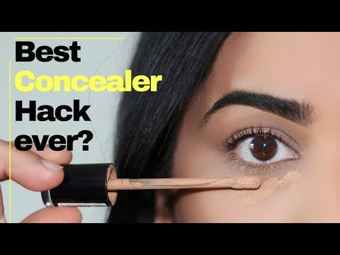 WATCH THIS IF YOUR CONCEALER WON'T STOP CREASING! - YouTube