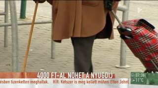 Az elmúlt évek legnagyobb nyugdíjemelése jöhet még idén - tv2.hu/mokka
