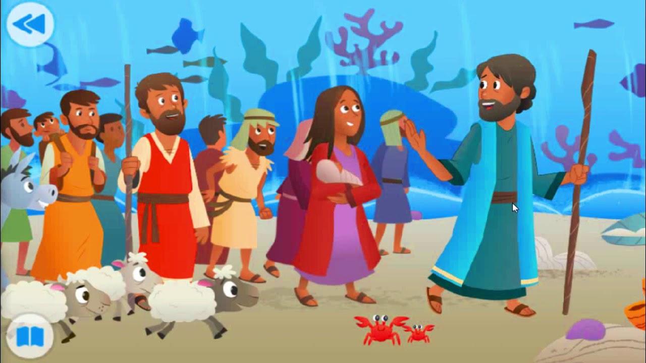 Musa Membelah Laut Cerita Alkitab Anak Sekolah Minggu