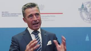 Interview with Anders Fogh Rasmussen WSF 2018 | Made by Rek House