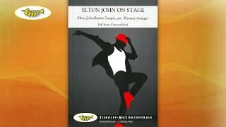 Elton John On Stage - Concert Band - John-Taupin - Asanger - Tierolff
