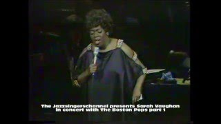 Baixar - Sarah Vaughan In Concert With The Bostonpops Orchestra Part 1 Wave Grátis