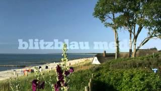 Stock Footage Europe Germany Baltic Sea Beach Ahrenshoop Darss Mecklenburg Ostsee Urlaub Travel