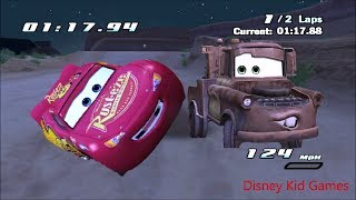 Disney Pixar Lightning McQueen Cars Movie Game  15 - Mater's Backwards Driving Lesson