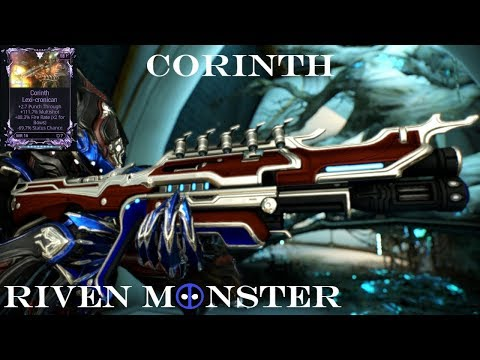Corinth - Warframe Riven Monster thumbnail