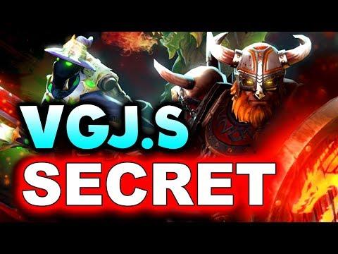 SECRET vs VGJ.STORM - EPIC! WHAT A GAME! - MDL MAJOR DOTA 2