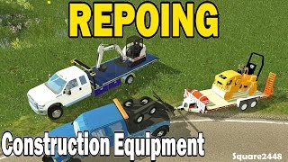 FS15: Repoing Construction Equipment