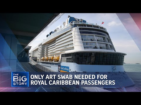 Covid-19: Royal Caribbean cruise guests only need to take ART swab pre-departure | THE BIG STORY