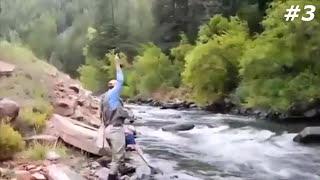 Четкие приколы на рыбалке #3