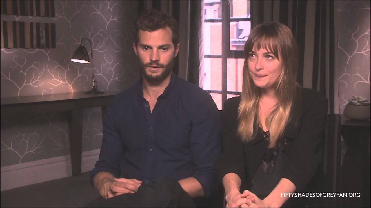 dakota johnson and jamie dornan interview fifty shades