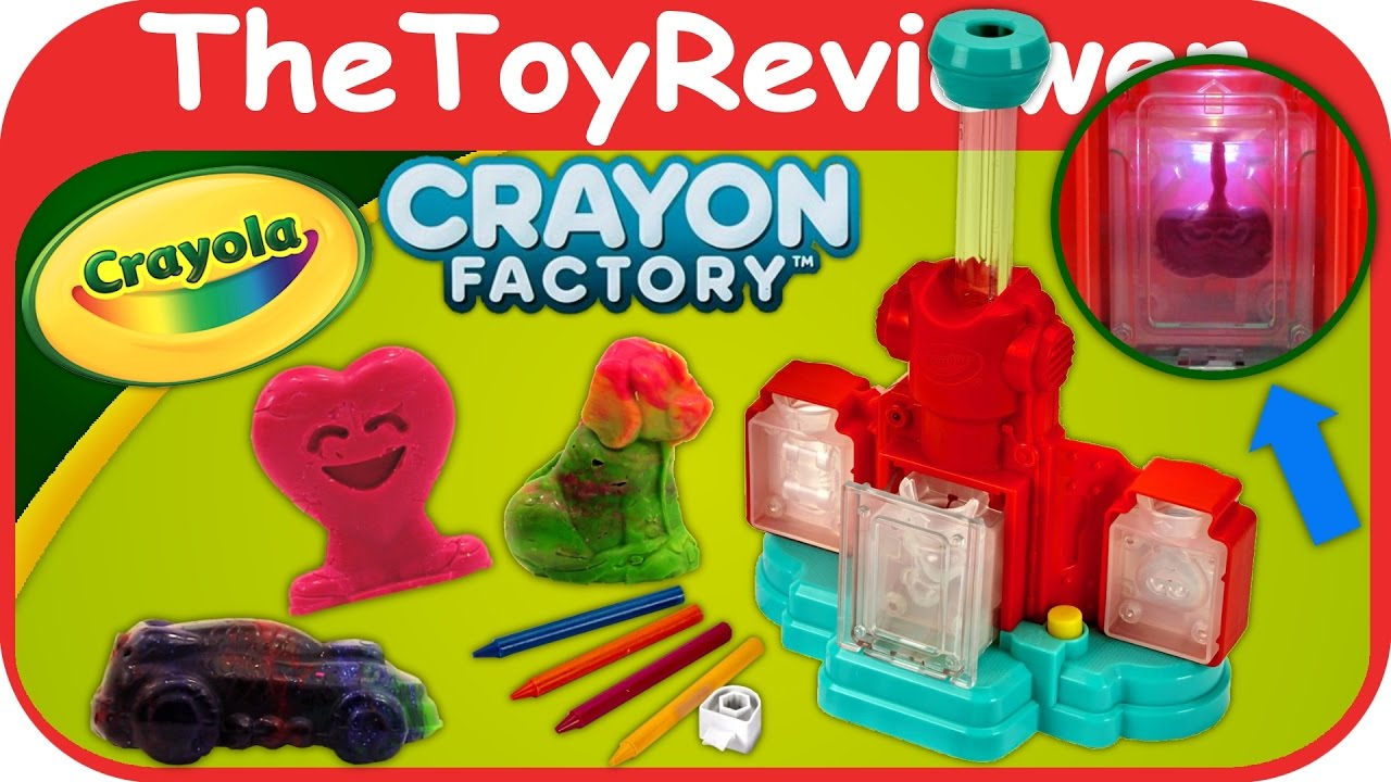 Crayon Rings Crayola Crayon Factory 2016 Melting Melt N Mold Unboxing Toy