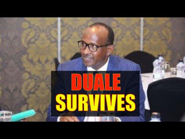 Joy in William Ruto Camp as Uhuru Kenyatta Retains Aden Duale as Majority Leader in Parliament