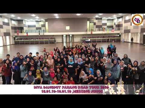 Ddayang Fitness Studio Danceworkout  First Roadtour Diva Dangdut 2019 : Mersing Johor