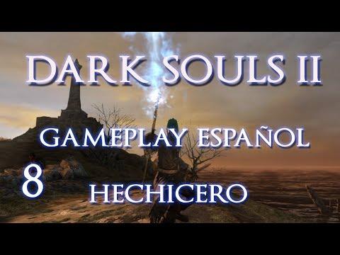 DARK SOULS 2 | Gameplay Hechicero P8 | Centinelas de Ruinas - Loma de los Pecadores