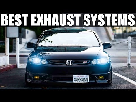 5 BEST EXHAUST SYSTEMS (Whats The Best Sounding Exhaust System) Honda Civic SI Mods