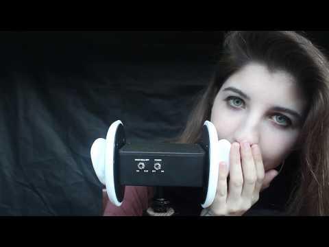 ASMR Ear Eating & Inaudible Whispers