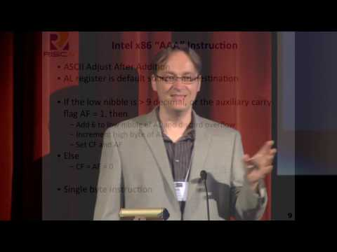The Case for Open Instruction Sets - Krste Asanovic (UC Berkeley)