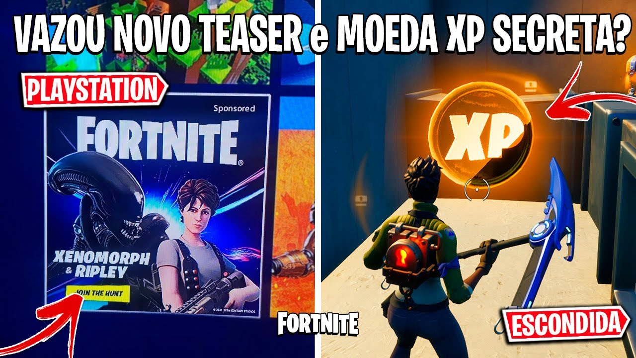FORTNITE - TEASER DO ALIEN, UPDATE FINAL e TEMA DA TEMPORADA 6?